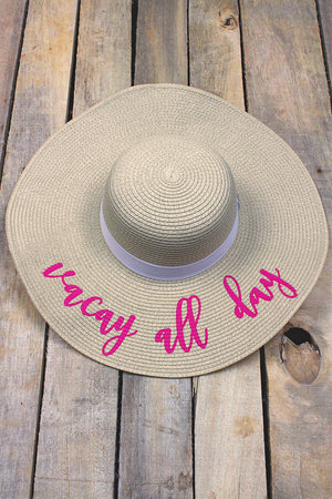 Vacay All Day Banded Sun Hat