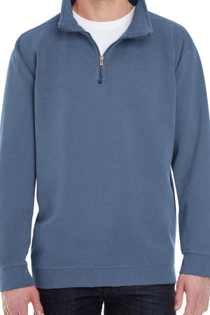 Shades of Blue Comfort Colors Adult Quarter Zip Sweatshirt *Customizable!
