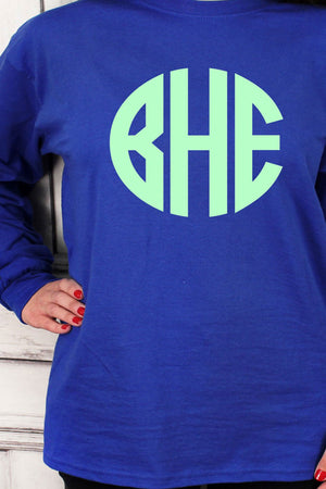Shades of Blue Ultra Cotton Adult Long Sleeve T-Shirt *Personalize It!
