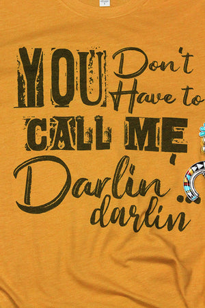 Darlin' Tri-Blend Short Sleeve Tee