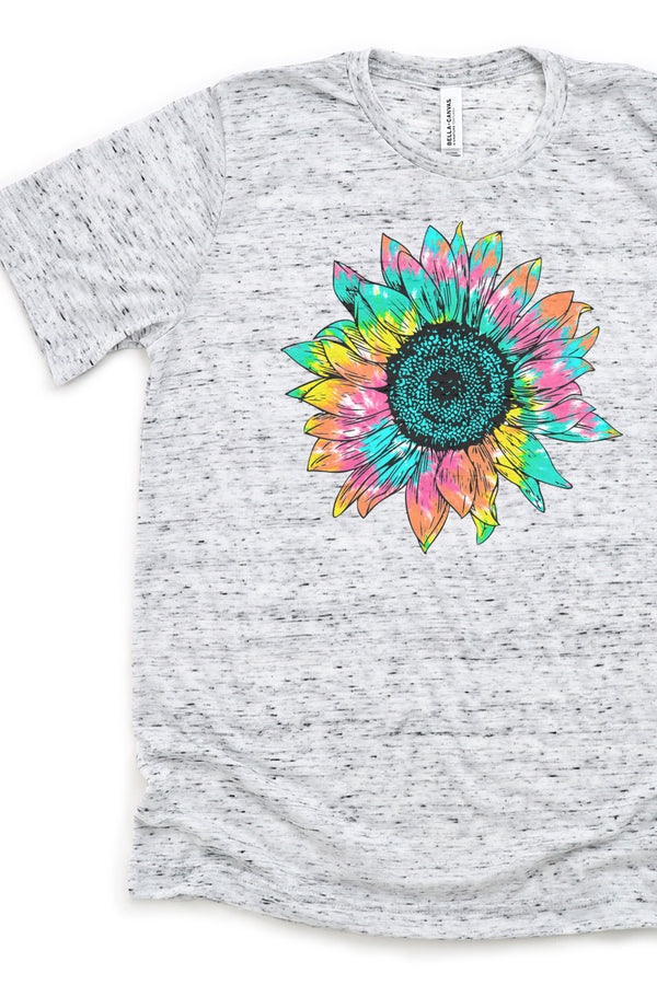 Psychedelic Sunflower Unisex Short Sleeve Tee