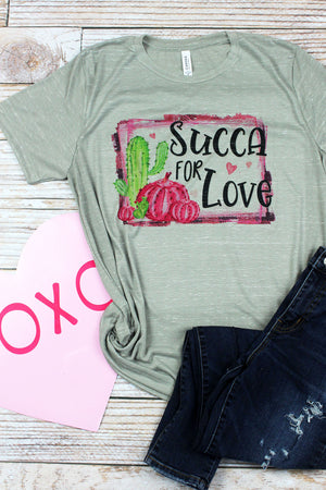 Succa For Love Unisex Short Sleeve Tee