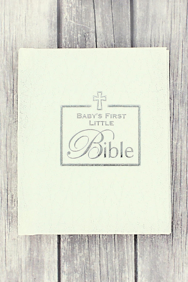 White Baby's First Little Bible #39316