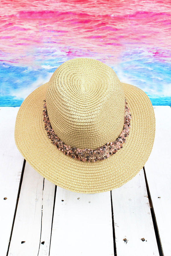Island Vacation Panama Hat, Ivory