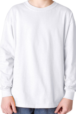 Gildan Youth Long Sleeve Relaxed T-Shirt *Choose Your Color