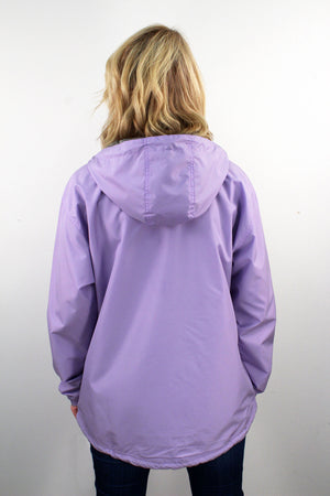 Charles River Women's Chatham Anorak Solid Pullover, Lilac #5809 *Customizable! (PLEASE ALLOW 3-5 BUSINESS DAYS. EXPEDITED SHIPPING N/A)
