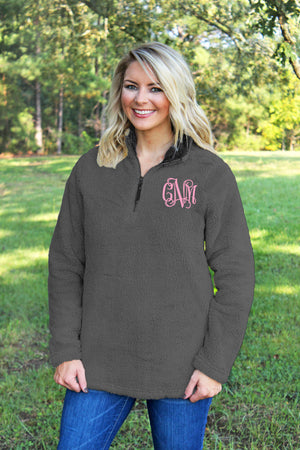 Charles River Women's Charcoal Newport Fleece *Personalize It!