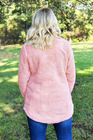 Charles River Women's Powder Pink Newport Fleece *Personalize It!