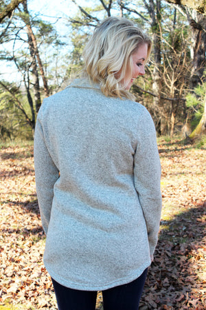 Charles River Women's Hingham Tunic, Oatmeal Heather *Personalize It!
