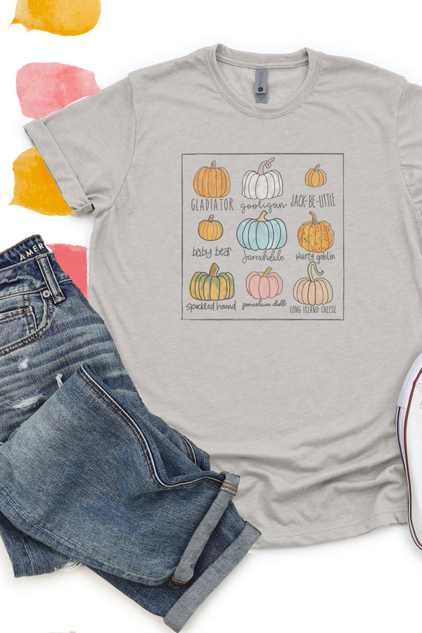 Pick Your Pumpkin Poly/Cotton Tee