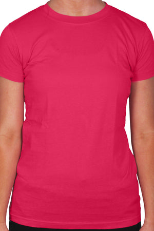Gildan Ladies Short Sleeve Fitted T-Shirt