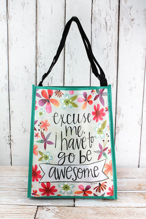 Go Be Awesome Tote Bag