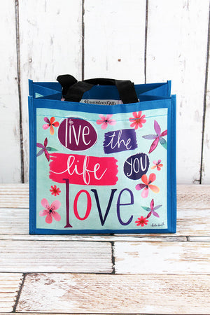 Live The Life You Love Small Gift Tote
