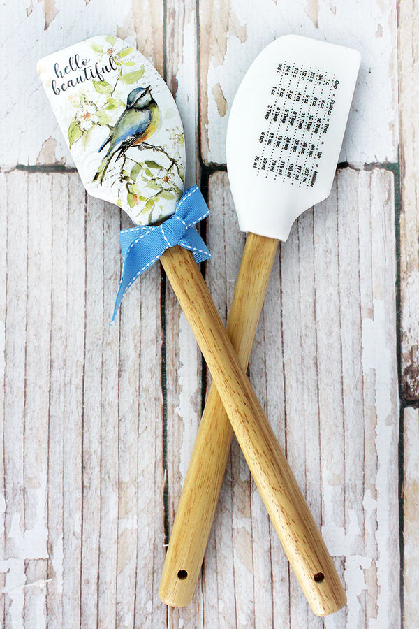 One Hello Beautiful Bird Silicone Spatula