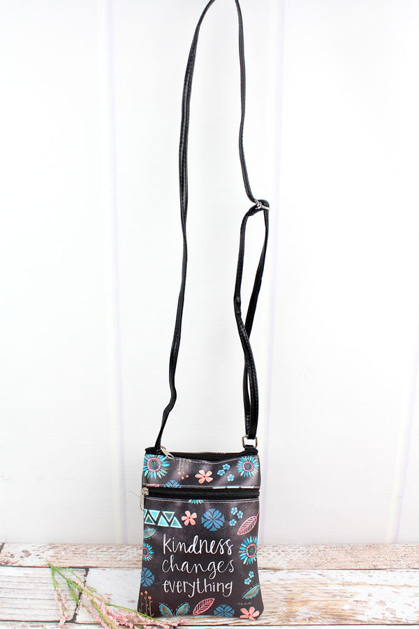 Kindness Changes Everything Crossbody Bag