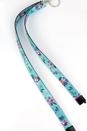 Remember To Smile Lanyard