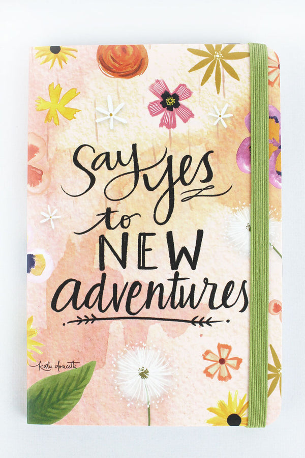 Say Yes To New Adventures Pocket Notepad