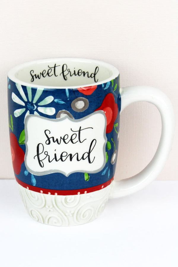 Sweet Friend Simple Inspirations Ceramic Mug