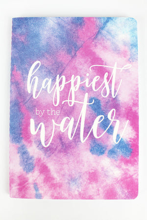 Happiest By The Water Softcover Journal