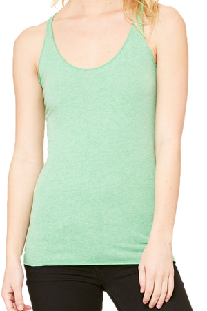 Bella+Canvas Ladies Tri-Blend Racerback Tank *Personalize It