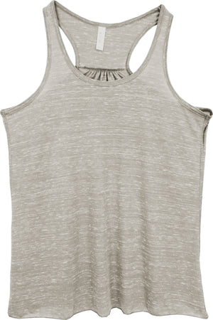 Athletic Heather - Bella+Canvas Women's Flowy Racerback Tank #8800 *Personalize It