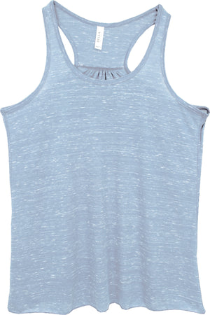 Blue Marble - Bella+Canvas Women's Flowy Racerback Tank #8800 *Personalize It