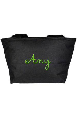 Black Insulated Lunch Bag #8808-BLACK