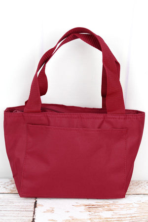 Cardinal Red Insulated Lunch Bag
