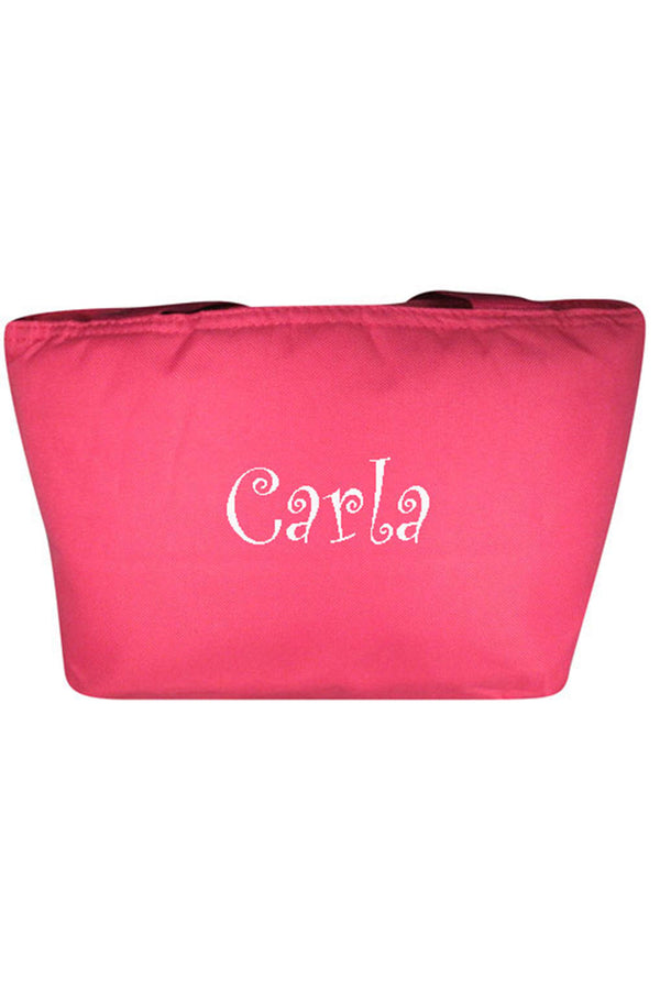 Hot Pink Insulated Lunch Bag #8808-HOTPINK