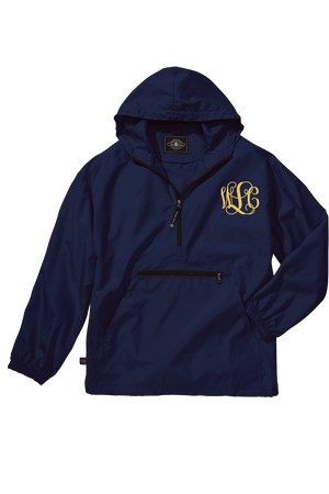 Charles River Youth Lightweight Rain Pullover, Navy *Customizable!