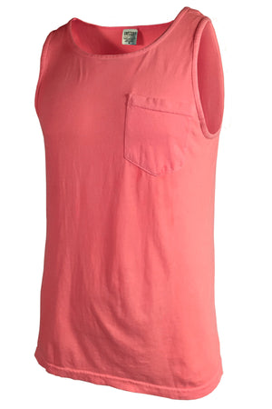 Shades of Pink/Purple Comfort Colors Pocket Tank *Personalize It