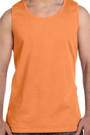 Shades of Red/Orange Comfort Colors Cotton Tank Top *Personalize It