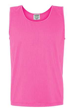 Shades of Pink/Purple Comfort Colors Cotton Tank Top *Personalize It