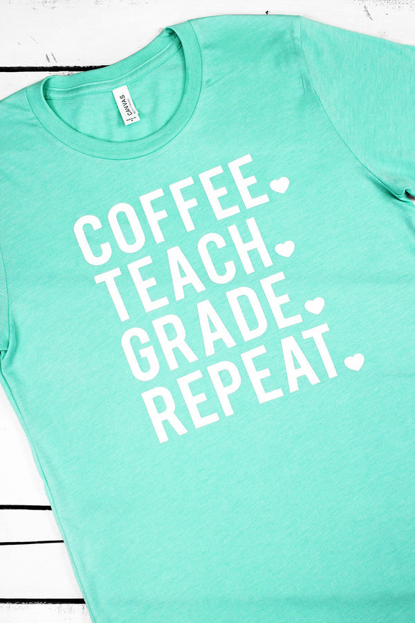 Teacher Life Unisex Tri-Blend Short Sleeve Tee #3413