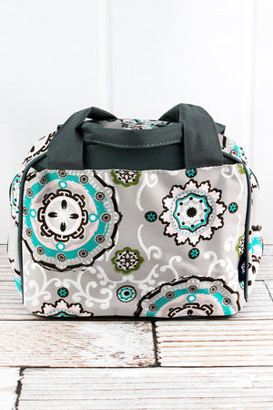 Garden View Insulated Bowler Style Lunch Bag