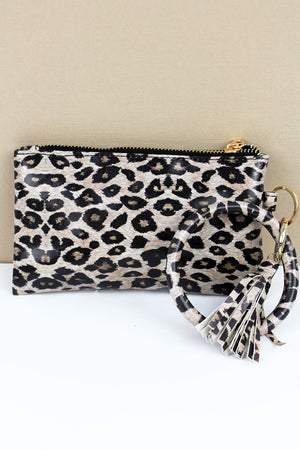 Wild Days Ahead Leopard Bangle Wristlet