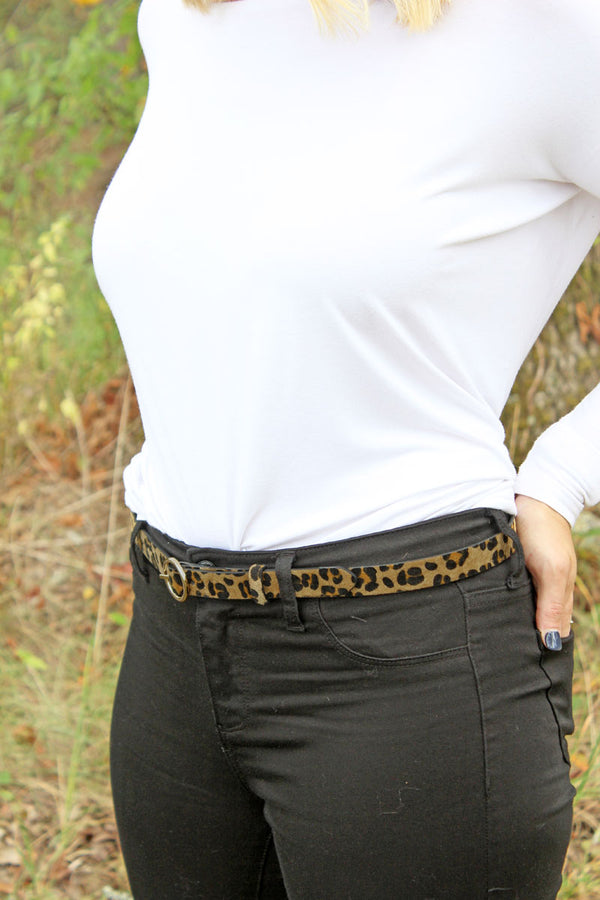 Larger Than Life Leopard Belt