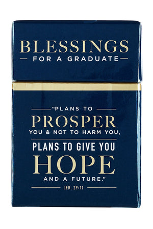 Jeremiah 29:11 Box of Blessings for Graduate