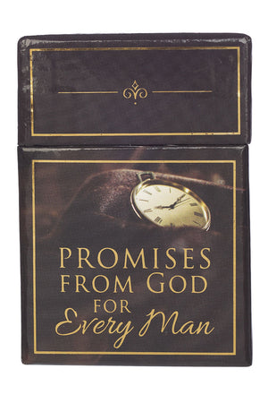 101 Promises From God For Every Man Promise Cards