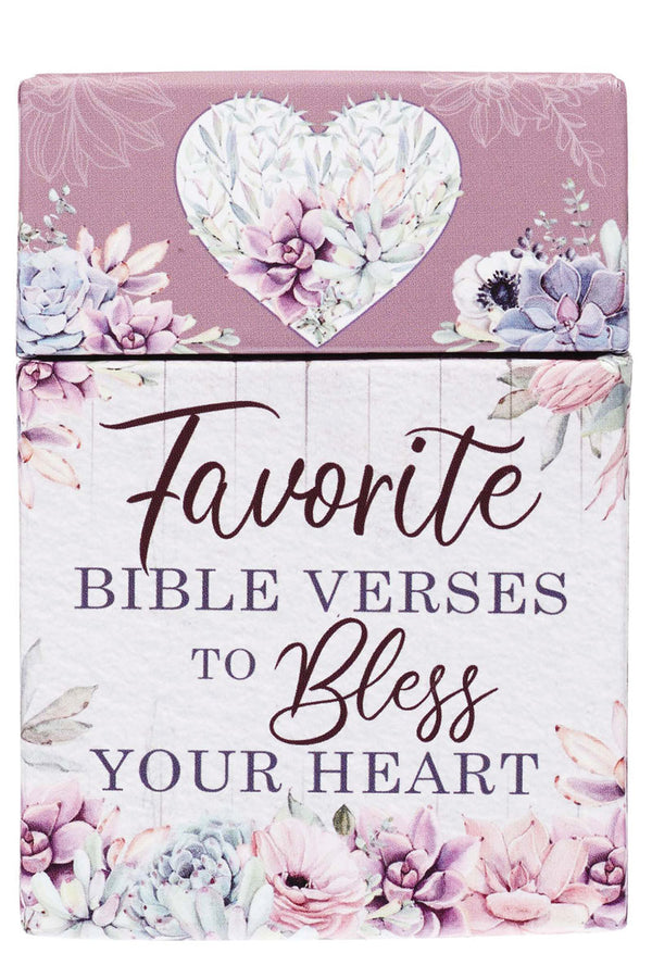 Favorite Bible Verses To Bless Your Heart Box of Blessings