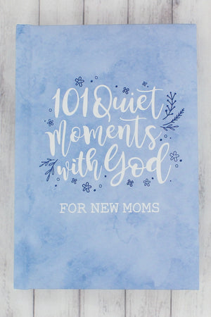 Blue 101 Quiet Moments with God for New Moms