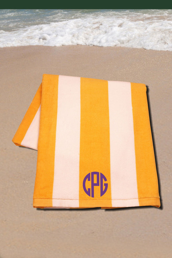 Classic Cabana Stripe Towel #C3060 *Personalize It