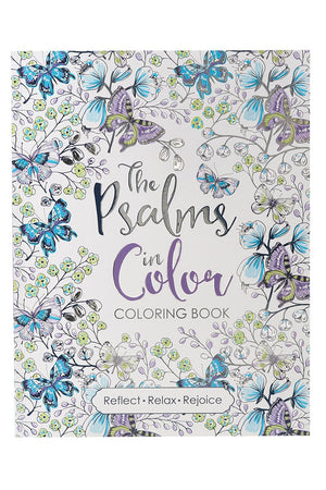 The Psalms in Color Adult Coloring Book