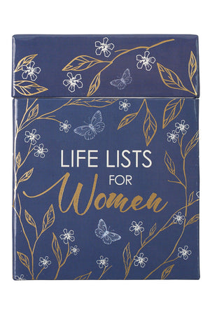 Life Lists For Women Boxed Cards