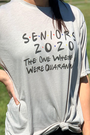 Friends Seniors 2020 Poly/Cotton Tee