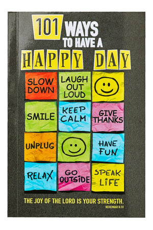 101 Ways to Have a Happy Day Book