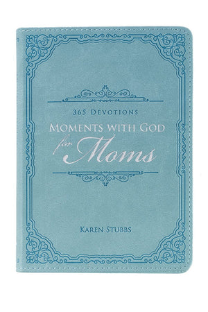 Moments with God for Moms LuxLeather Devotional
