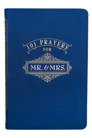 101 Prayers For Mr. & Mrs. LuxLeather Book