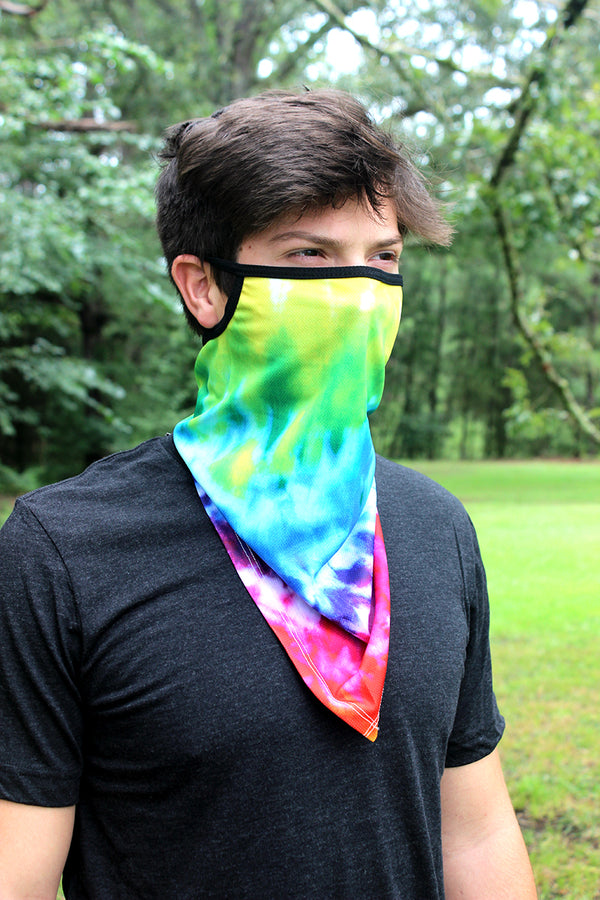 Tie Dye Face Mask Neck Gaiter