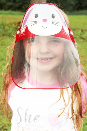 Kid's Bunny Face Shield